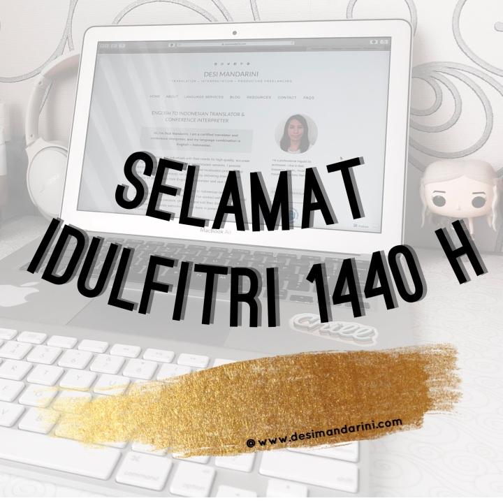 Selamat Libur Idulfitri 1440 H, Mohon Maaf Lahir danBatin