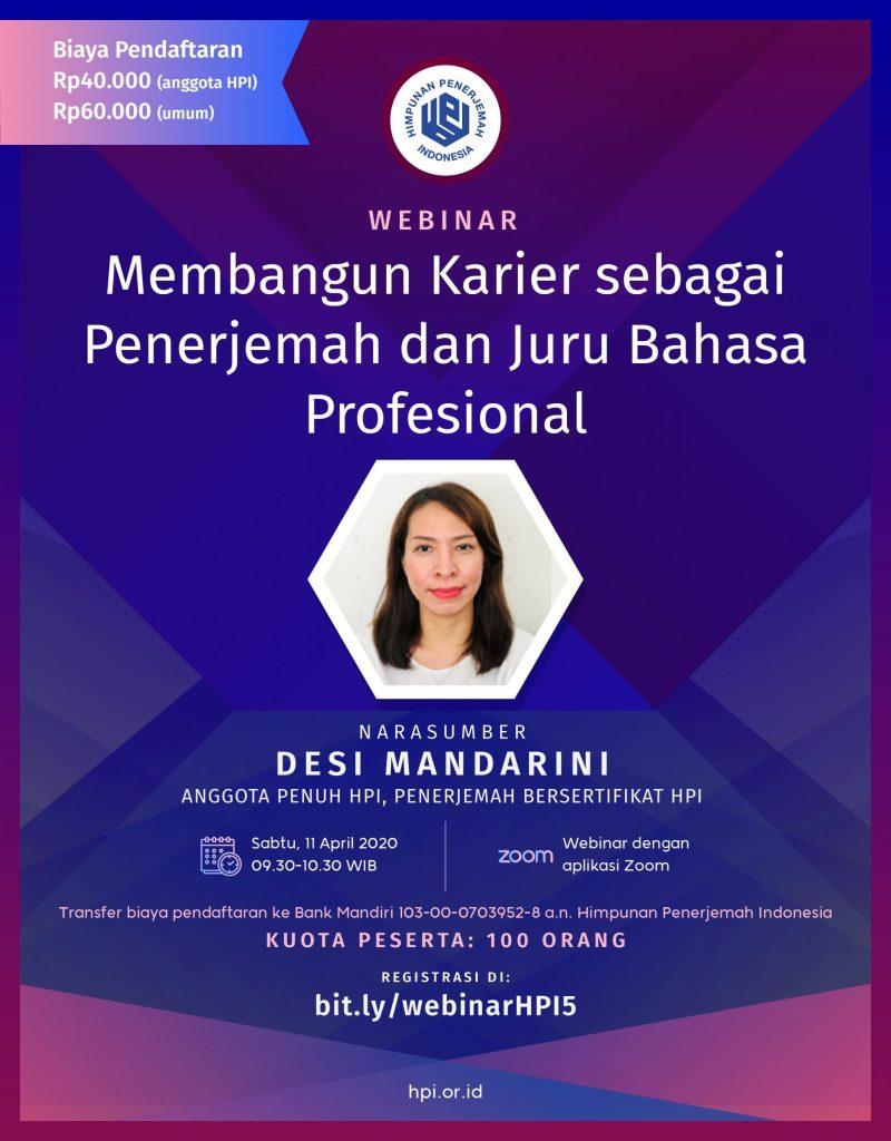 penerjemah Indonesia_Desi Mandarini anggota penuh HPI